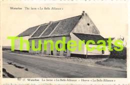 CPA  WATERLOO LA FERME BELLE ALLIANCE - Waterloo