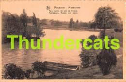 CPA  MOUSCRON PARC PUBLIC - Moeskroen