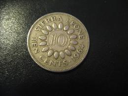 10 Cents SIERRA LEONE 1964 Coin - Sierra Leone