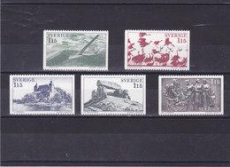 SUEDE 1978 VASTERGOTLAND Yvert 1011-1015 NEUF** MNH - Suède