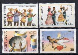 SAINTE LUCIE  Timbres Neufs ** De 1986   ( Ref 5607 ) Tourisme - St.Lucie (1979-...)