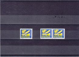 SUEDE 1979 PIGEON Yvert 1039 + 1039a NEUF** MNH - Suède