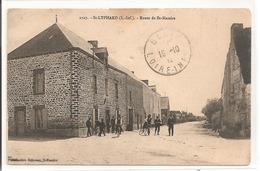 44 - SAINT LYPHARD - Route De St Nazaire. - Saint-Lyphard