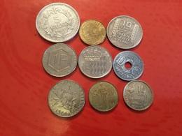 Lot De 9 Pièces Voir Le Scan - Monnaies & Billets