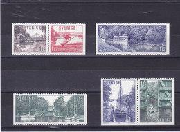 SUEDE 1979 TOURISME Yvert 1047-1052 NEUF** MNH - Suède