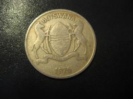 25 Thebe BOTSWANA 1976 Coin - Botswana