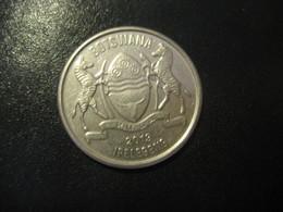 50 Thebe BOTSWANA 2013 Coin - Botswana