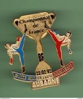 BOXE *** CHAMPIONNAT DE FRANCE BOXE ALL STYLES ACADEMY - AUBAGNE 1992 *** 0048 - Boxing
