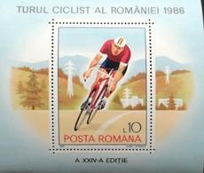 Romania   1986 Natl. Cycling Championship S/S - 1948-.... Republics