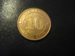 10 Ten Cents ZIMBABWE 2014 Coin - Zimbabwe