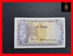 BANGLADESH 1 Taka 1973 P. 5 A P. H. UNC - Bangladesh