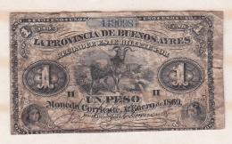 Argentine. Buenos Aires, 1 Peso 1869. - Argentine
