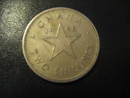 2 Shillings GHANA 1958 Coin - Ghana