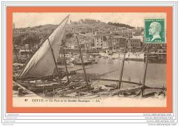A700 / 205 34 - CETTE Port Et La Société Nautique - Sete (Cette)