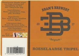 Roeselaars Tripel Bier  Bramsbrewery - Bière