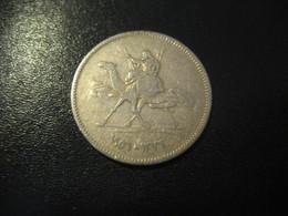 5 M SUDAN 1956 Coin Camel - Sudan
