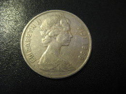 10 Cents FIJI 1969 QEII Coin British Area Colonies - Fidji