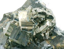Minerals - Pirite Con Blenda E Quarzo (Huaron, Perù) - Lot. H3 - Minerali