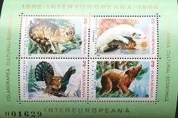 Romania   1986 Intereuropa S/S - 1948-.... Republics