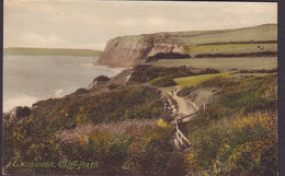 United Kingdom PPC Exmouth, Cliff Path Frith's Series (2 Scans) - Exeter