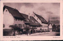 Basel Kirche St Jakob, Photo Th. Hoffmann, Kupferdruck (135) - BS Bâle-Ville