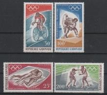 A16247)Olympia 68: Gabun 308 - 311** - Sommer 1968: Mexico