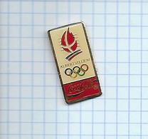 Pin's Pins / THEME  Thème COCA-COLA / JEUX OLYMPIQUES ALBERVILLE 1992 - Jeux Olympiques