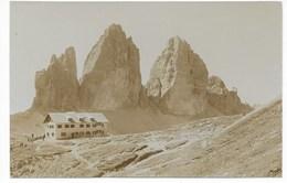 52.  3 ZINNEN HÜTTE    ~ 1910 - Italia