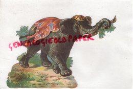 DECOUPIS CHROMO ELEPHANT - Animaux