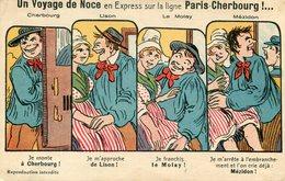 HUMOUR(TRAIN) PARIS CHERBOURG - Humour