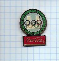 Pin's Pins / THEME  Thème COCA-COLA / JEUX OLYMPIQUES D'été De 1952 Helsinki Finlande - Coca-Cola