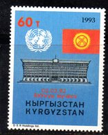 51 490 - KIRGHISISTAN 1993 , Unificato N. 19  ***  . ONU - Kirghizstan