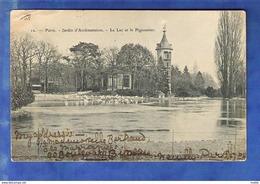 Cpa 75 Paris - Jardin D Acclimatation - Le Lac Et Le Pigeonnier - Altri