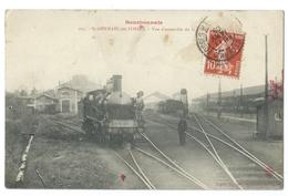 SAINT-GERMAIN DES FOSSÉS (Allier,03) Vue D'ensemble De La Gare - Animée - Bourbonnais N°205 - France