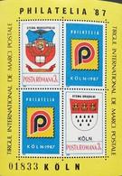 """Romania   PHILATELIA  """"87 S/S - 1948-.... Republics"""