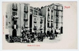 NAPOLI Mercato Strada S. Lucia Animatissima - Napoli