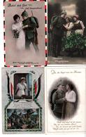 9382,  4 X Feldpostkarten - Weltkrieg 1914-18