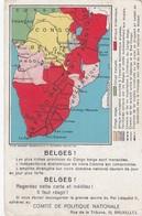 Congo Belge - Comité De Politique Nationale - Maps