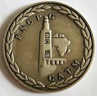 Médaille 40ème Anniversaire De La Fin De La Guerre En Afrique Du Nord Algérie 1952-1962 2002 FNCPG CATM - Francia