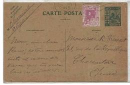 Algérie Entier Alger  20/12/1928 Cover Carta Beleg Ganzache Lettre Stationary - Algeria (1924-1962)