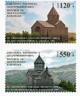 Armenia - Nagorno Karabakh Artsakh 2015 Mih 110-111 Churches Of Artsakh St. Astvatsatsin Church St. Hambardzum MNH** - Arménie