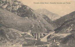 U.517.  VIEVOLA - Valle Roia - Viadotto Ferrovia Per Tenda - Non Classés