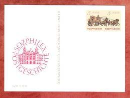 P 93 Sozphilex Postgeschichte 1985 (56770) - Postales - Nuevos