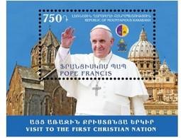 Armenia - Nagorno Karabakh Artsakh 2016 Visit Of Pope Francis MNH** - Armenia