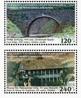 Armenia - Nagorno Karabakh Artsakh 2016 Sights Of Mountainous Karabakh Yants Bridge House Of Mesrop Ter Grigorian MNH** - Arménie