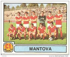 CALCIATORI PANINI 1981-82 N. 359 CON VELINA NEW MANTOVA SQUADRA - Panini