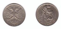 Albania - 1/2 Lek 1926 XF Lemberg-Zp - Albanie