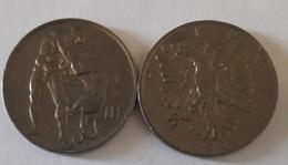 Albania - 1/2 Lek 1926 XF Ukr-OP - Albania