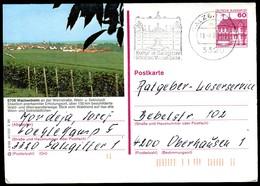 84744) BRD - P 138 - S6/88 - OO Gestempelt - 6706 Wachenheim, Ortsansicht Mit Weinreben - [7] West-Duitsland