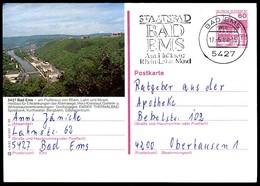 84745) BRD - P 138 - S6/92 - Ortsgleich OO Gestempelt - 5427 Bad Ems, Ortsansicht - [7] West-Duitsland